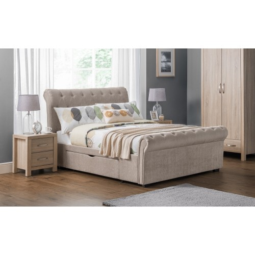 Ravello Scroll Two-Drawer Bed