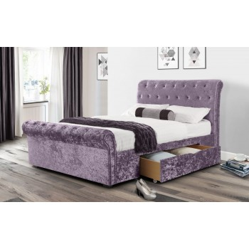 Verona Lilac Crush 2 Drawer Bed