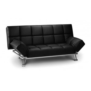 Manhattan Black Sofa Bed *Low Stock - Selling Fast*