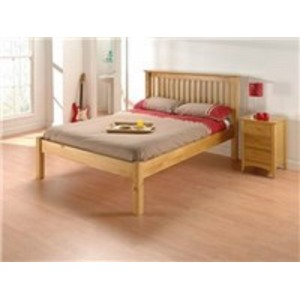 Barcelona Pine Low End Bed *4ft Out of Stock - Back Soon*