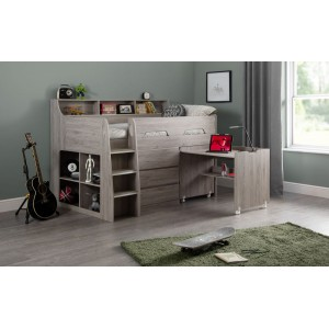 Jupiter Grey-Oak Mid Sleeper