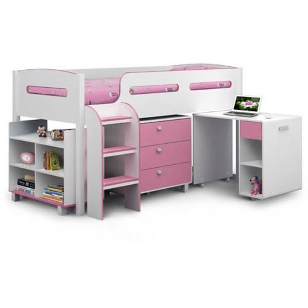 Kimbo Pink Cabin Bed
