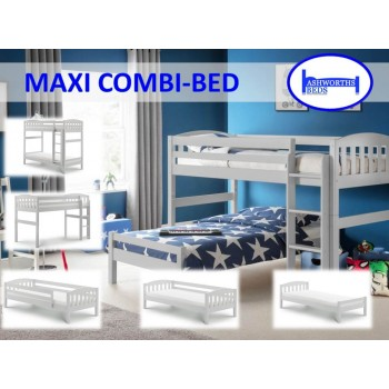 Max Dove Grey Combination Bed