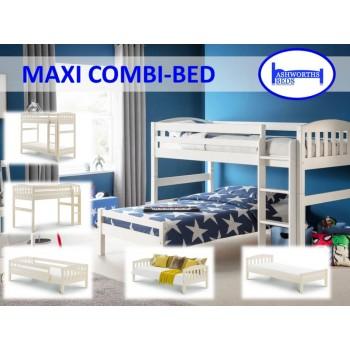 Max Stone White Combination Bed