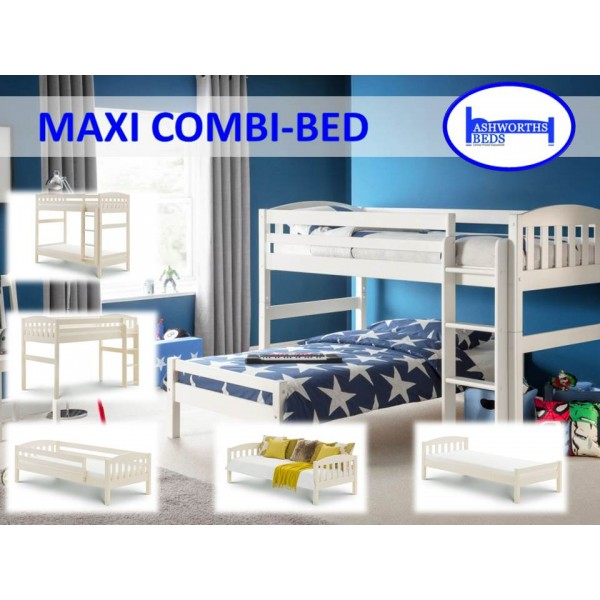 Max Stone White Combination Bed