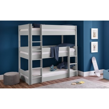 Trio Dove-Grey Bunkbed