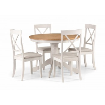Davenport Round Dining Set {Table + 4}*Out of Stock - Back Soon*
