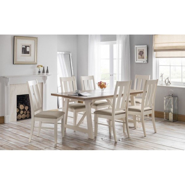 Pembroke Dining Set {Table + 6}