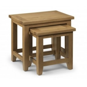 Astoria Oak Table Nest (Assembled) *Out of Stock - Back Soon*