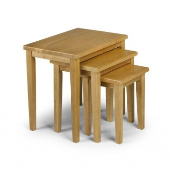 Cleo Oak Effect Table Nest *Out of Stock - Back Soon*