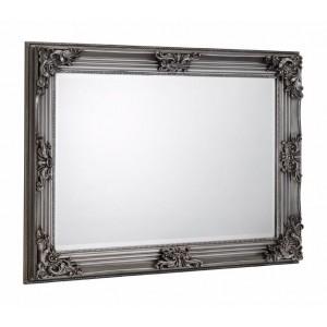 Rococo Pewter Wall Mirror