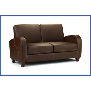 Vivo Chestnut Brown 2 Seater Sofa