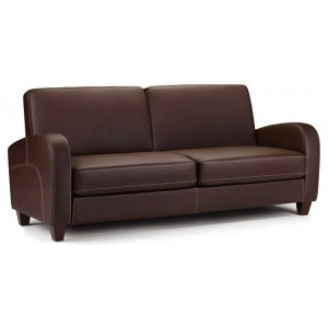 Vivo Chestnut Brown 3 Seater Sofa