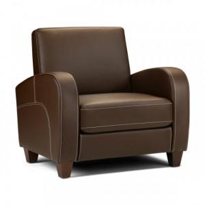 Vivo Chestnut Brown Armchair