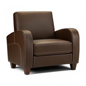 Vivo Chestnut Brown Armchair