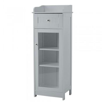 Alaska Grey Glass Cabinet