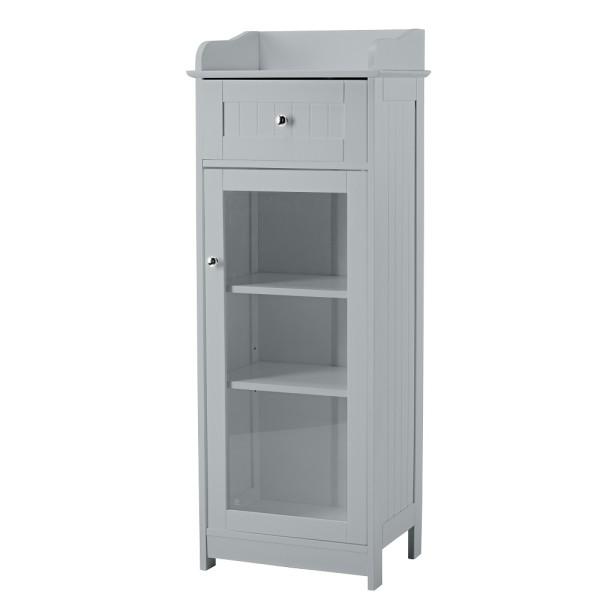 Alaska Glass Cabinet (Grey)