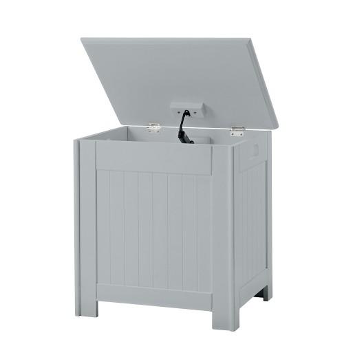 Alaska Grey Laundry Box