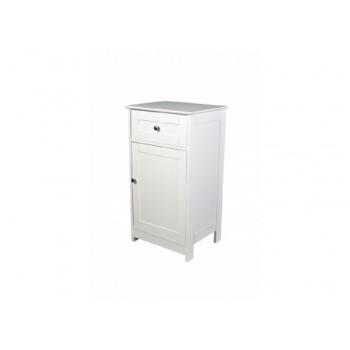 Alaska White Low Cabinet