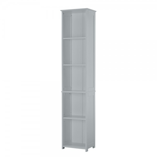 Alaska Tall Cabinet (Grey)