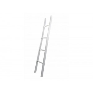 Alaska White Ladder Towel Rail