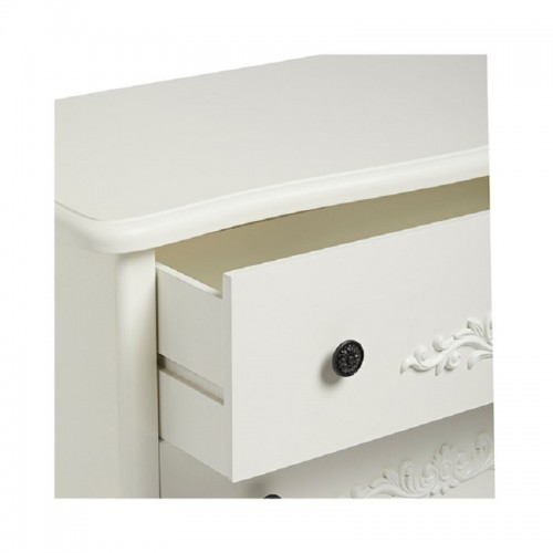 Antoinette White 3+2 Drawer Chest [Assembled]