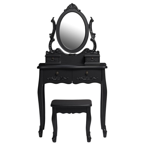 Antoinette Black Dresser Set [Assembled]