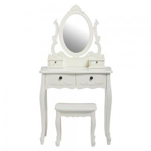 Antoinette White Dresser Set [Assembled]