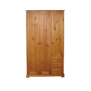 Baltic 3 Door Wardrobe *Low Stock - Selling Fast*