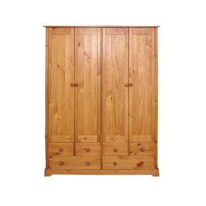 Baltic 4 Door Wardrobe