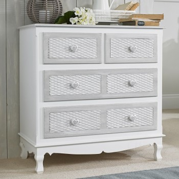 Brittany 2+2 Drawer Chest [Assembled]