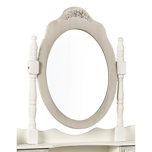 Brittany Dressing Table Mirror [Assembled]