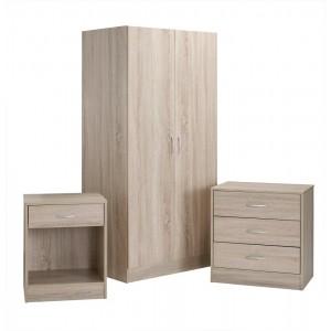 Delta Oak Bedroom Set