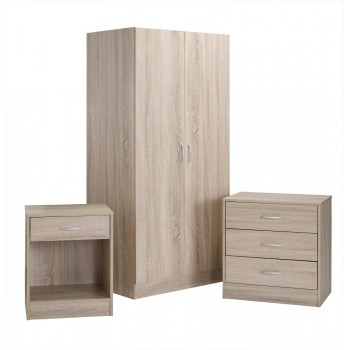 Delta Oak Bedroom Set