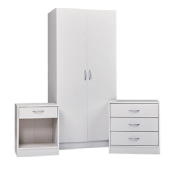 Delta White Bedroom Set