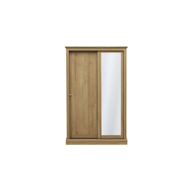 Devon 2 Door Sliding Wardrobe (Oak)