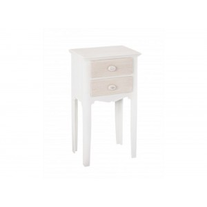 Juliette 2 Drawer Bedside Table [Assembled]