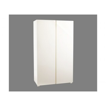Puro Highgloss 2 Door Wardrobe in Cream