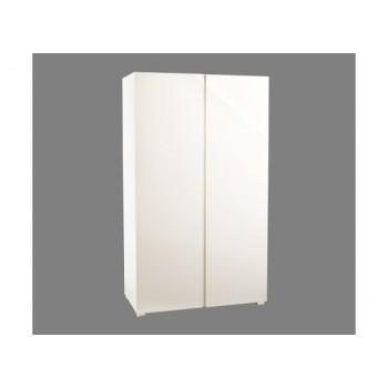 Puro Highgloss 2 Door Wardrobe in Cream