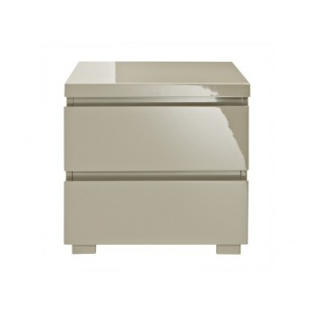 Puro Highgloss Bedside Cabinet in  *Out of Stock - Back Soon*