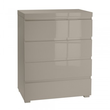 Puro Stone Highgloss 4 Drawer Chest
