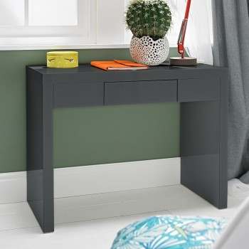 Puro Charcoal Highgloss Dresser Desk