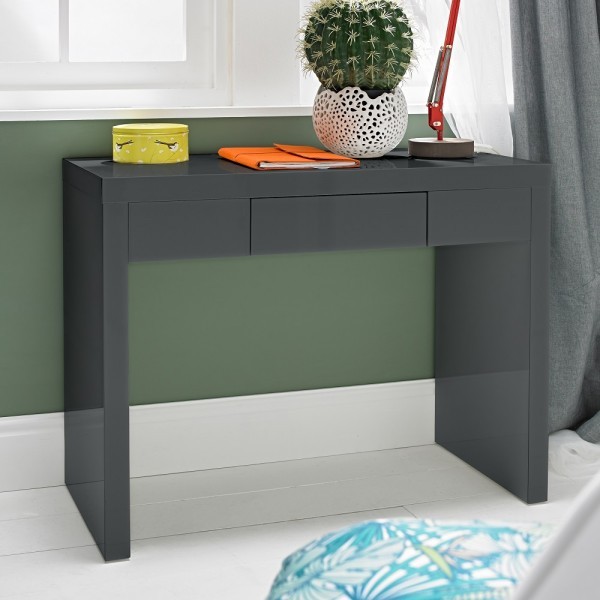 Puro Charcoal Highgloss Dresser/Desk