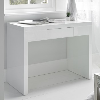 Puro White Highgloss Dresser Desk