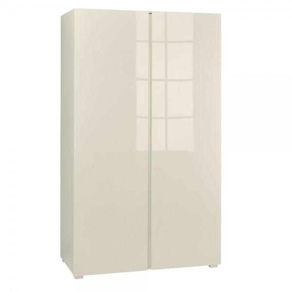 Puro Cream Highgloss 2 Door Wardrobe