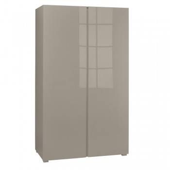 Puro Stone Highgloss 2 Door Wardrobe