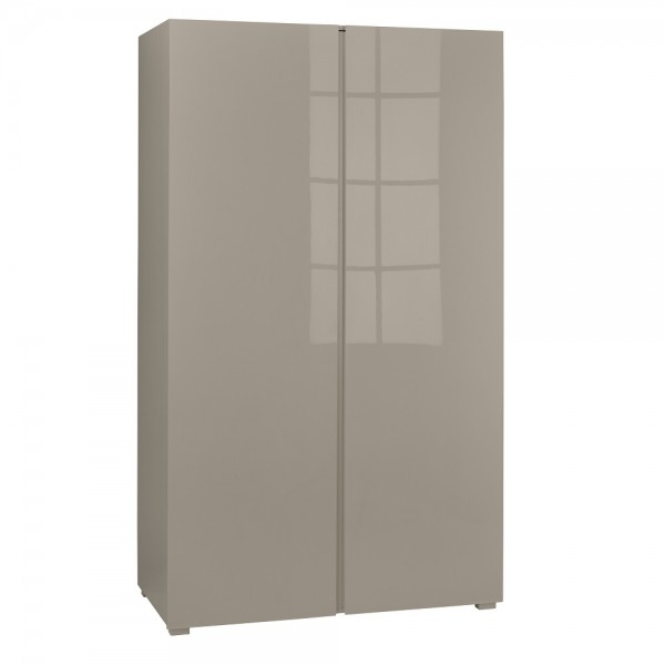 Puro 2 Door Wardrobe (Stone)