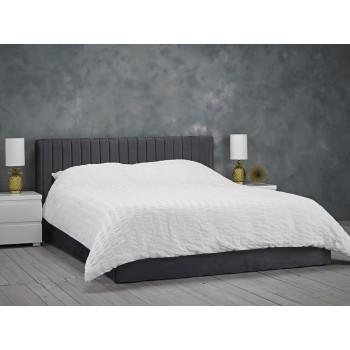 Berlin Silver Ottoman Bed