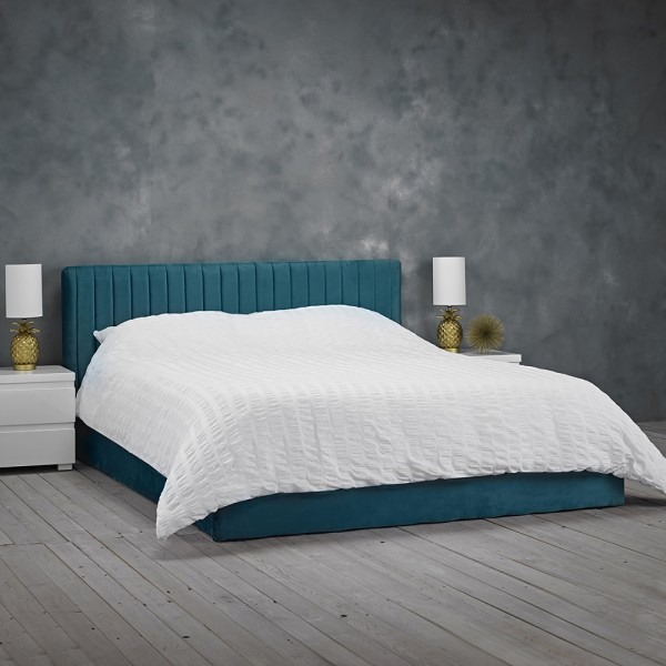 Berlin Teal Ottoman Bed