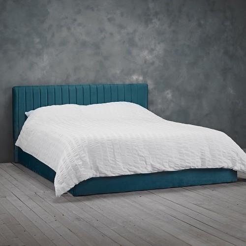 Berlin Teal Ottoman Bed